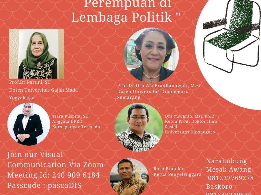 Public Discussion on Women and Politics